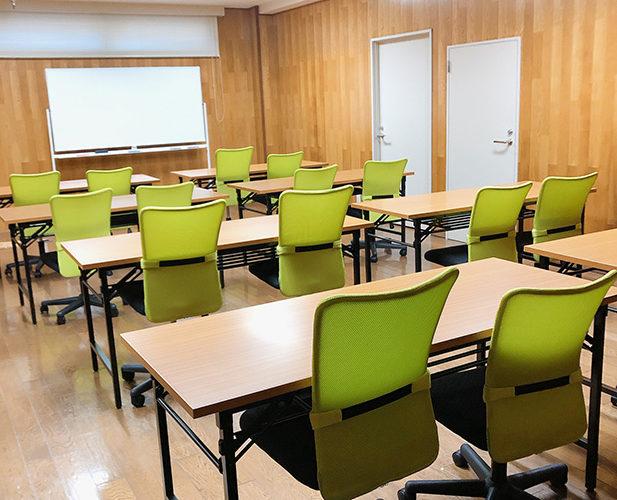 20名様収容可能の会議室
