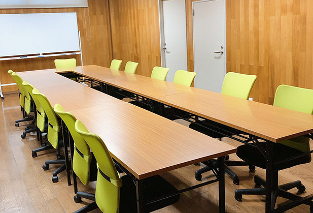 10名様収容可能の会議室