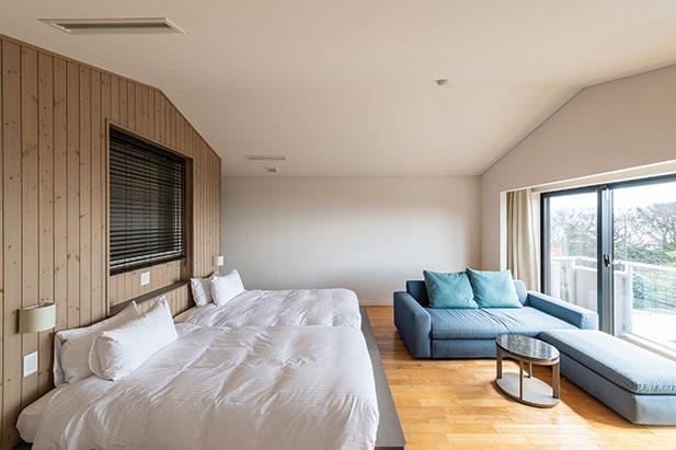 伊豆高原の自然を眺めながらリラックスできるお部屋4